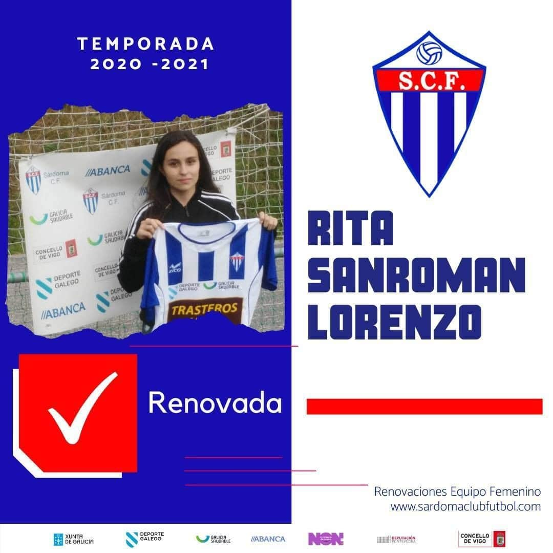 Rita Sanromán Lorenzo, xogadora do Sárdoma CF
