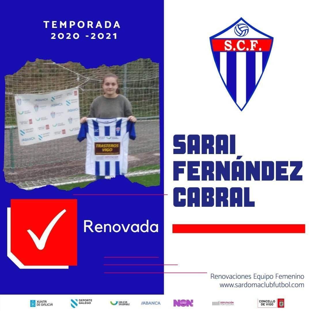 Sarai Fernández Cabral, xogadora do Sárdoma CF
