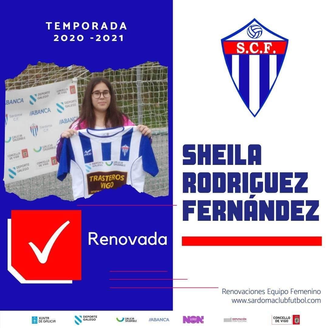 Sheila Rodríguez Fernández, xogadora do Sárdoma CF