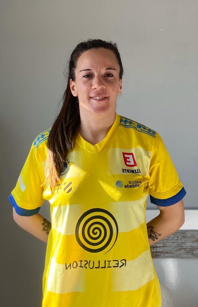 Mirian Señoráns, xogadora do Atlético Arousana - AA