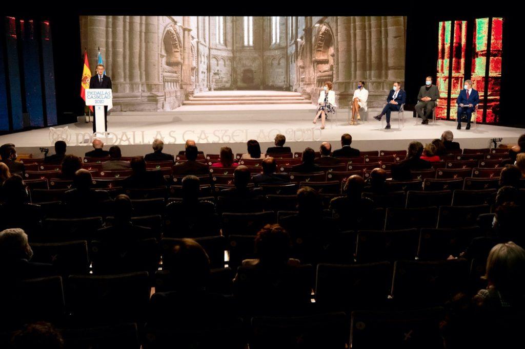 Acto de entrega das Medalla Castelao 2020 / XUNTA DE GALICIA