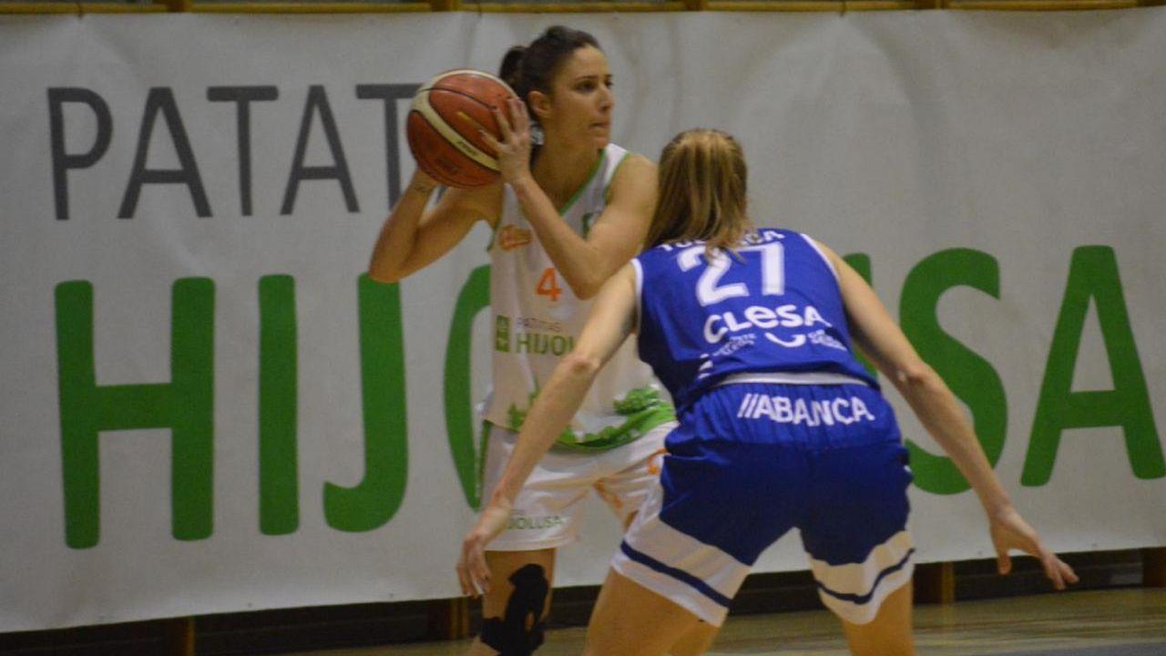 Laura Fernández contra o Baxi Ferrol
