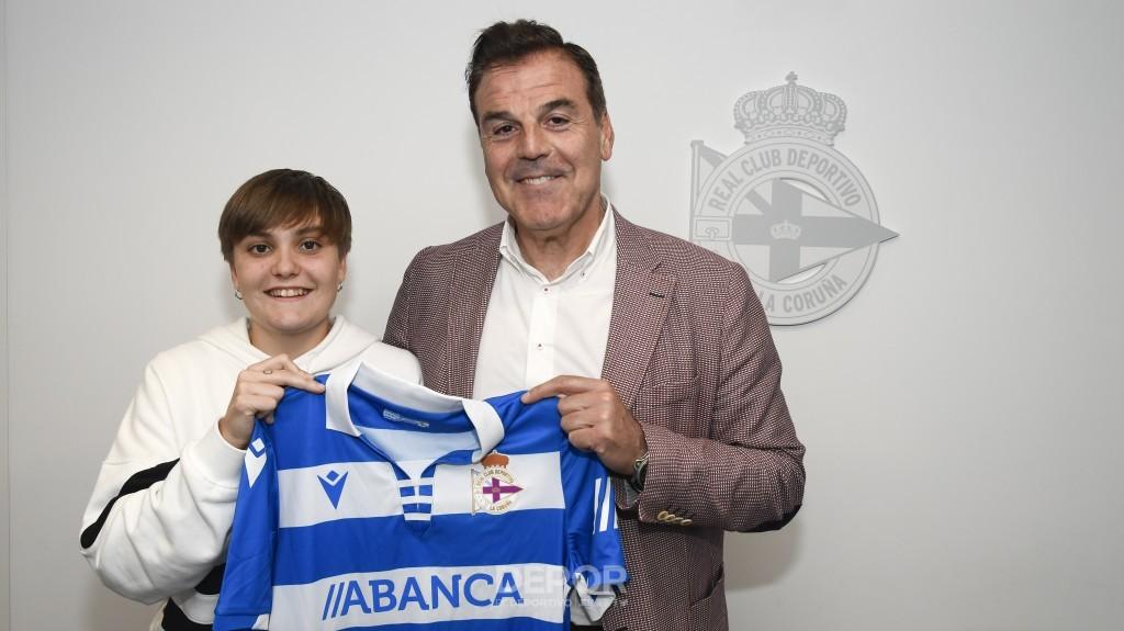 María Figueroa, nova xogadora do Dépor ABANCA B - RCD