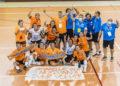 Final do playoff de ascenso a Primeira División Feminina de Fútbol Sala feminina entre o Amarelle e o Valdetires
