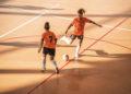 Final do playoff de ascenso a Primeira División de Fútbol Sala Feminina entre o Viaxes Amarelle e o Valdetires