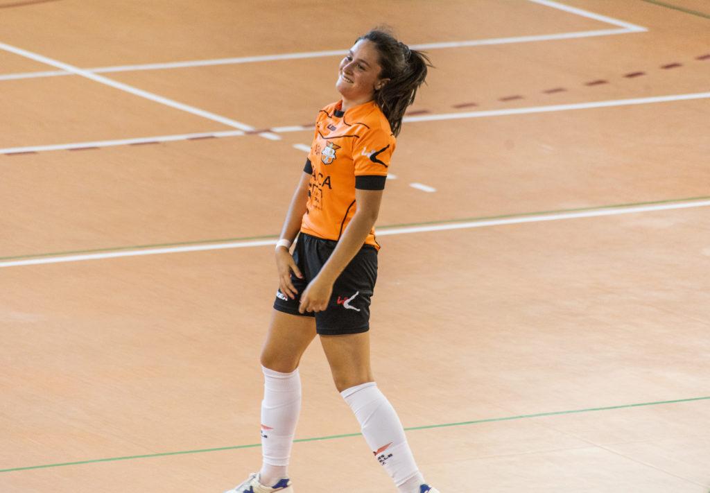 Martita, xogadora do Amarelle FSF / Íñigo Rolán