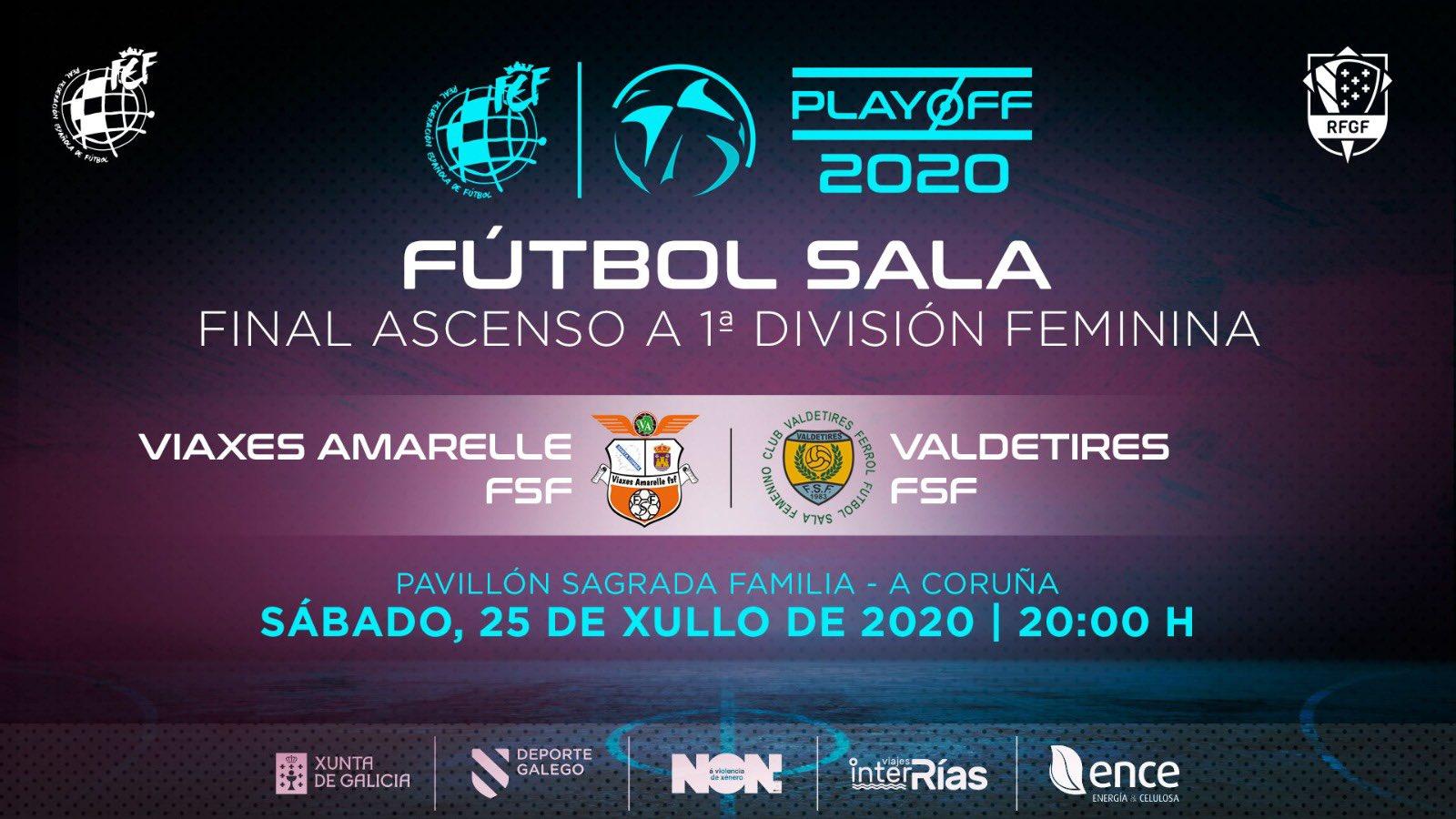 playoff Valdetires-Viaxes Amarelle - FUTGAL