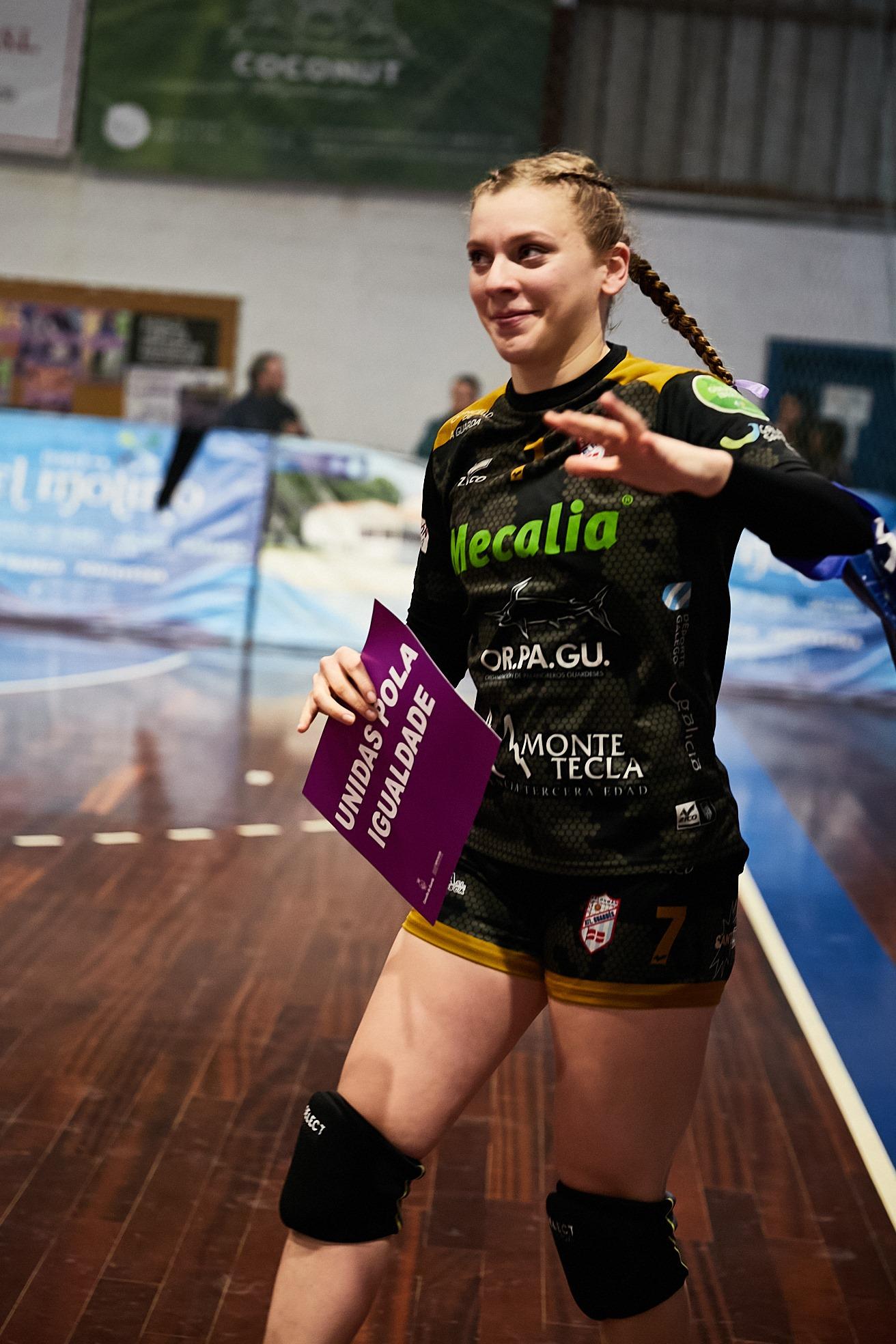Martina Mazza, xogadora do Guardés - MAG