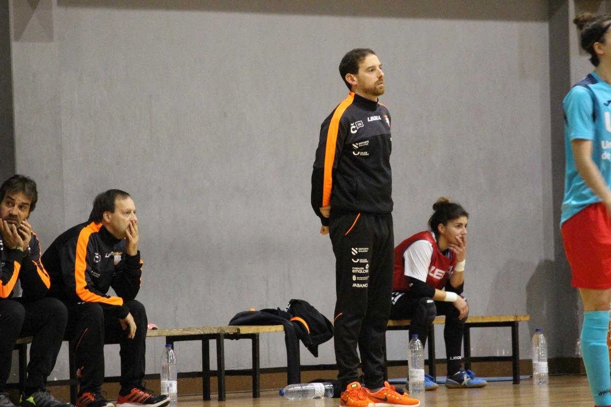 Jorge Basanta, adestrador do Viaxes Amarelle - VA
