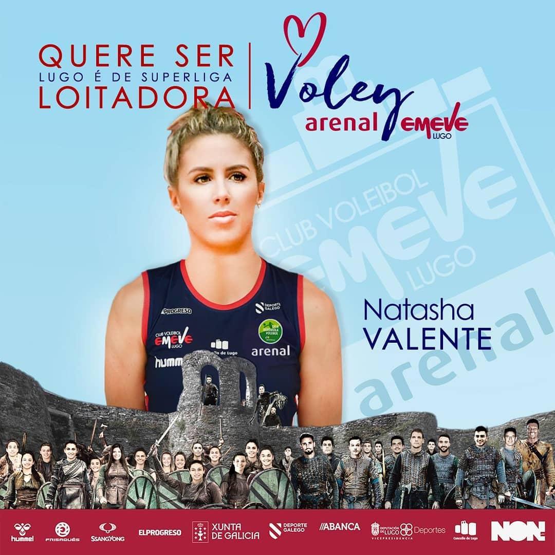 Natasha Valente, xogadora do Arenal Emevé Lugo