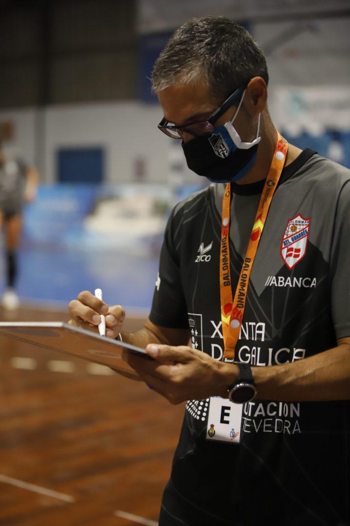 José Ignacio Prades, adestrador Atlético Guardés / Coeco.creative