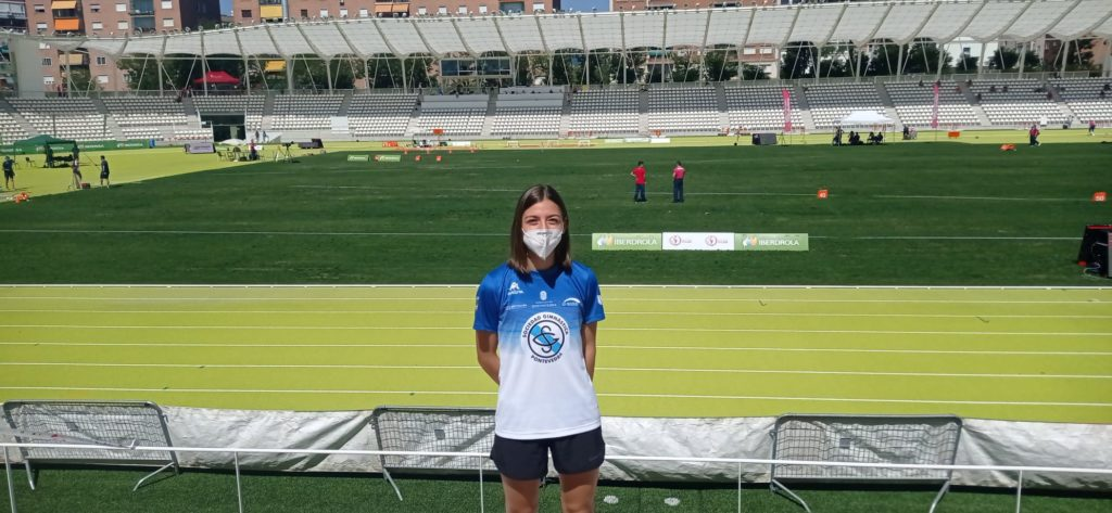 Andrea Villaverde, atleta / SG PONTEVEDRA