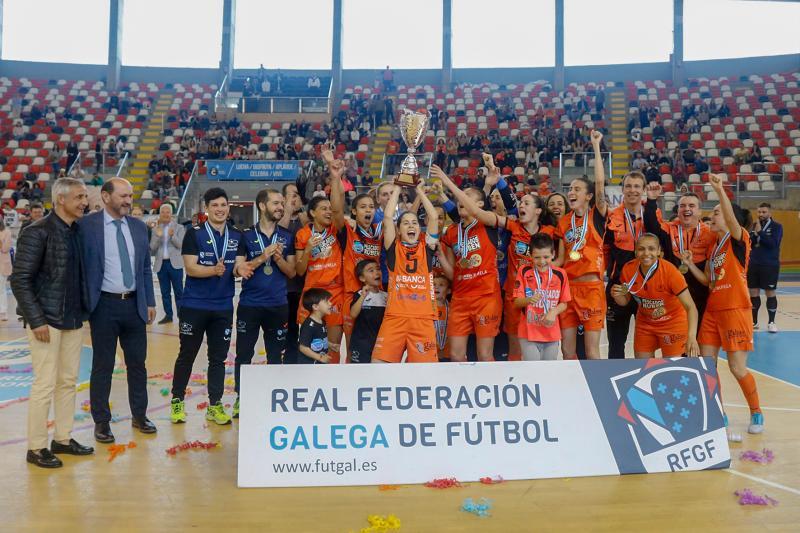 Pescados Rubén Burela, campioas Copa Galicia / RFGF