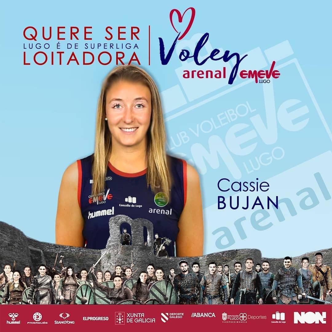 Cassie Bujan, xogadora do Arenal Emevé Lugo
