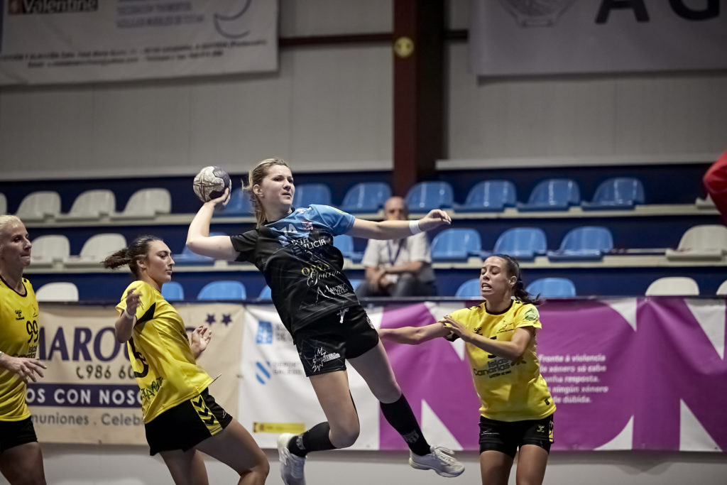 Erika Rajnohová, convocada por la selección eslovaca / ATLÉTICO GUARDÉS