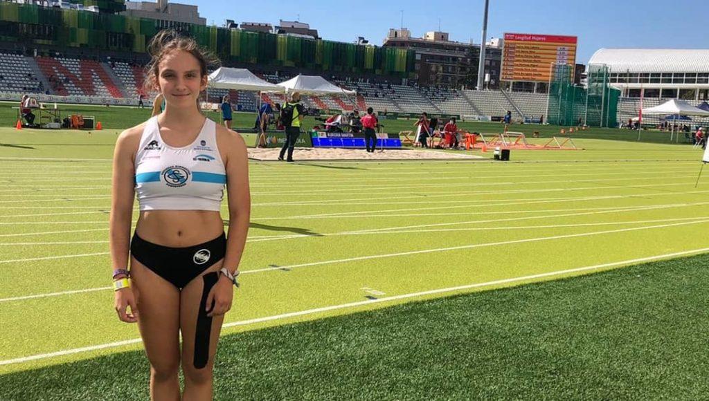 Helena Suárez, atleta / SG PONTEVEDRA