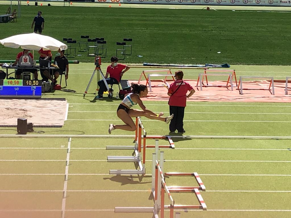 Lucía Ferrer, atleta / SG PONTEVEDRA