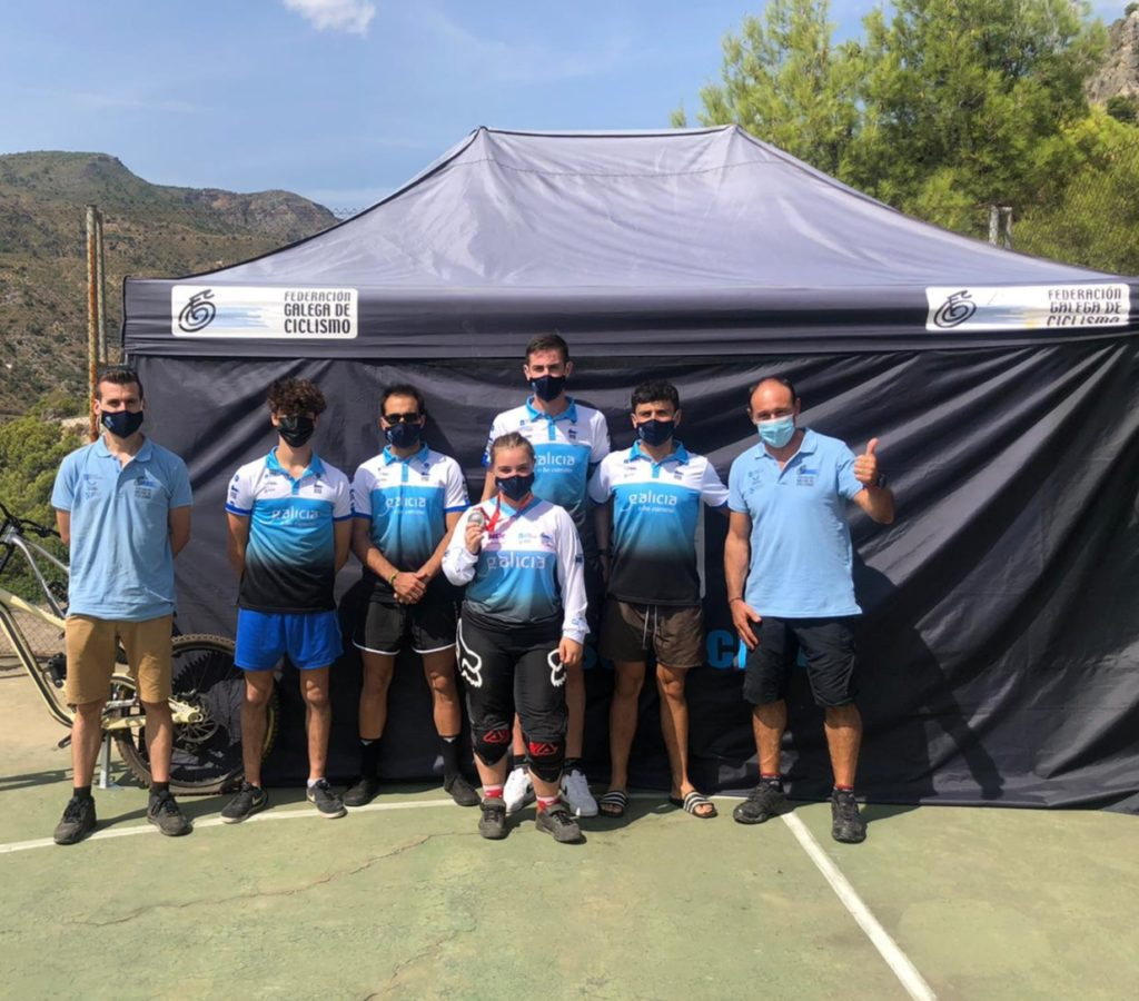Selección galega no Campionato de España DHI BTT en Otívar / FGC