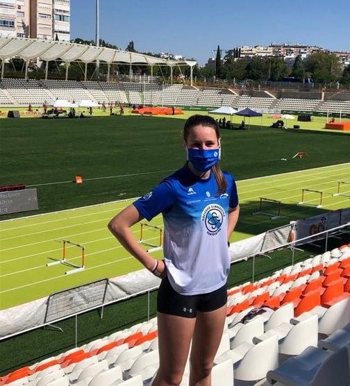 Paula de la Torre, atleta / SG PONTEVEDRA