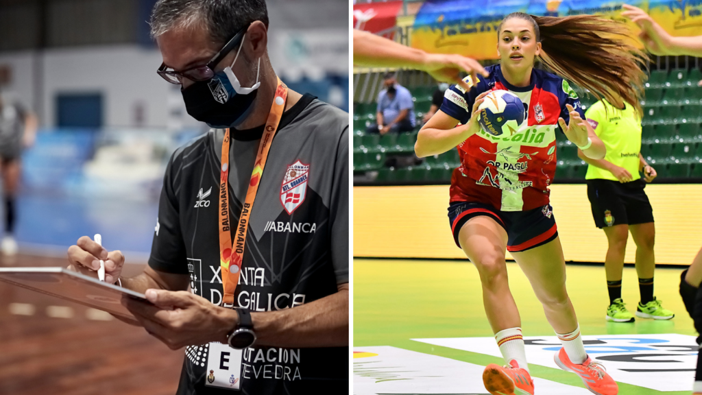José Ignacio Prades e Paula Arcos traballarán dentro dos equipos das seleccións estatatais / AT. GUARDÉS