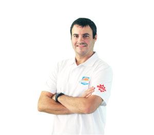 Carlos Cantero, adestrador do Durán Maquinaria Ensino / CD ENSINO