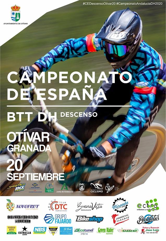 DH Otivar 2020, Campionato de Andalucía y de España DHI BTT 2020 / RFEC