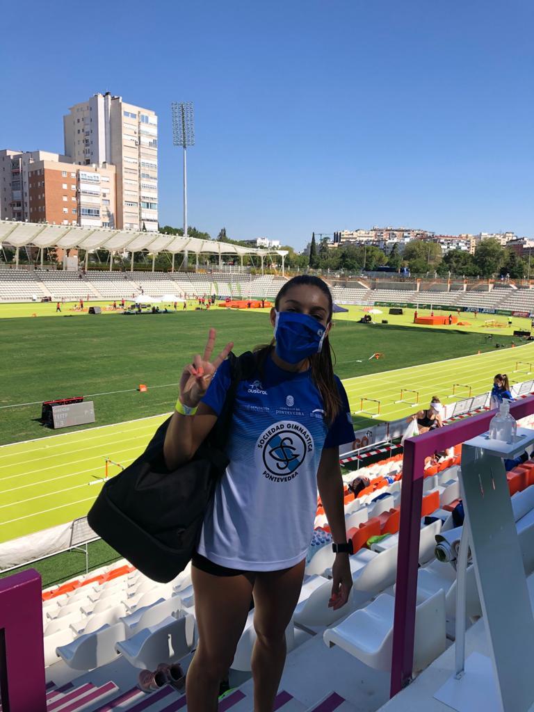 Eugenia Gil Soriano, atleta, velocista / SG PONTEVEDRA