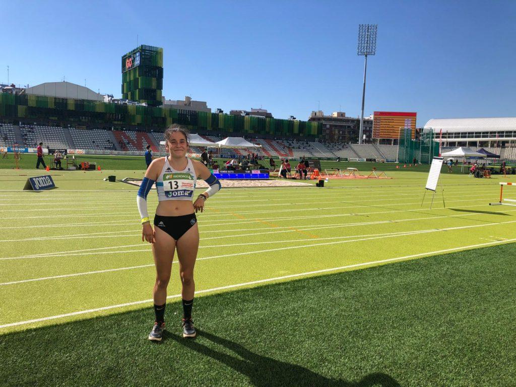 Marta Barragáns, atleta / SG PONTEVEDRA