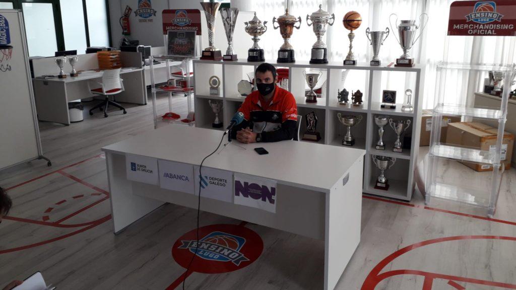 Carlos Cantero, adestrador / ENSINO CB