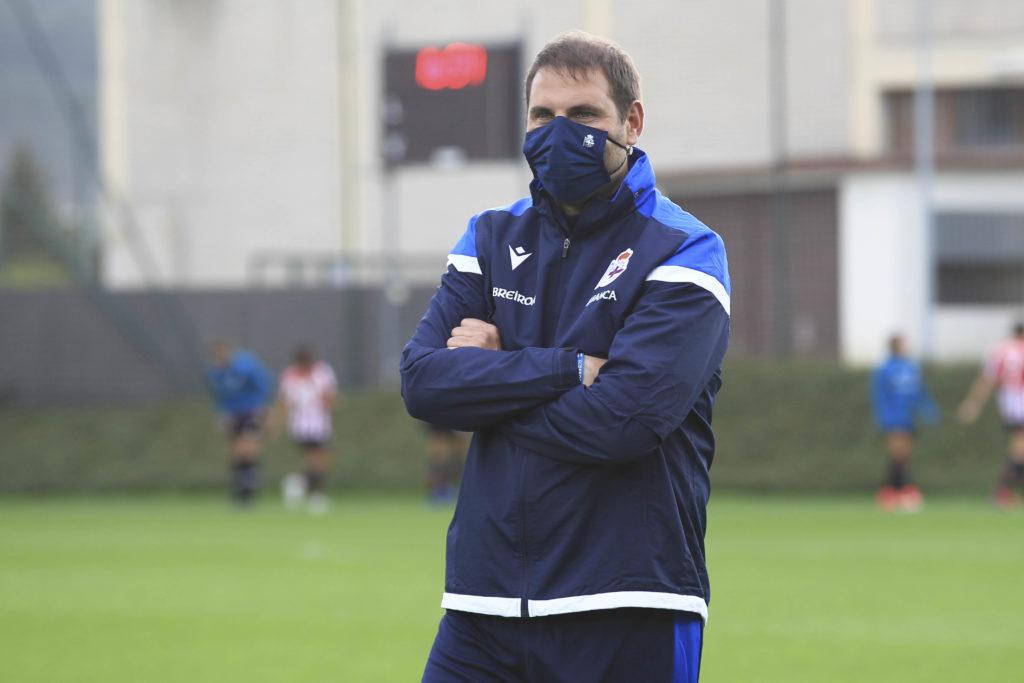 Manu Sánchez, adestrado do Dépor ABANCA / RCD