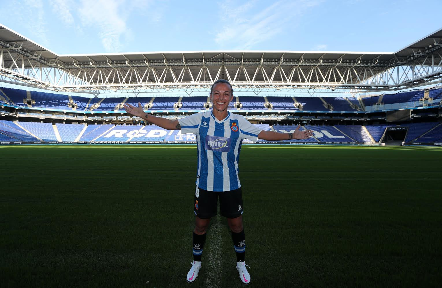 Anair Lomba, xogadora do Espanyol - AL