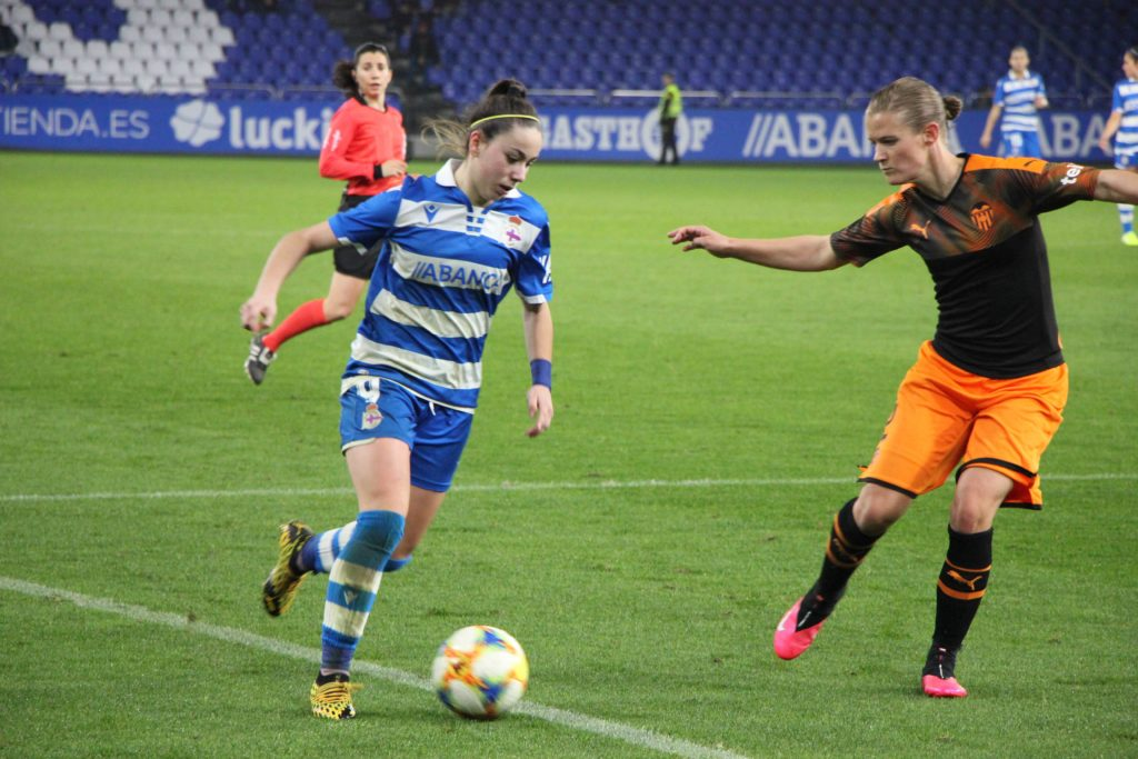 Athenea del Castillo, nun encontro da Copa da Raíña da pasada campaña fronte ao Valencia | wykazszkowski