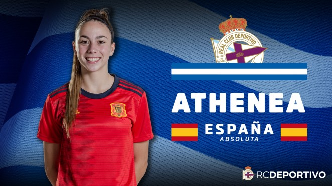 Athenea del Castillo, coa Selección Española Absoluta