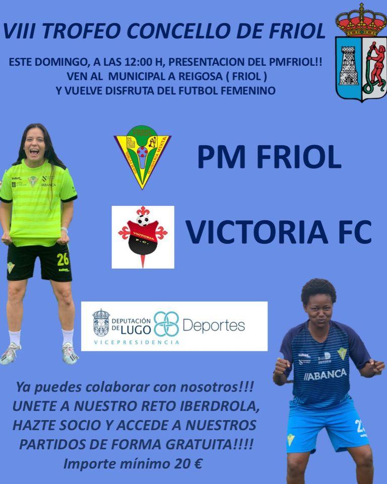 Cartel VIII Trofeo Concello de Friol - PMFRIOL.