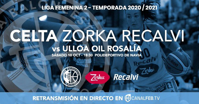 Inicio da Liga Feminina 2: Celta zorka fronte a Ulla Oil rosalía