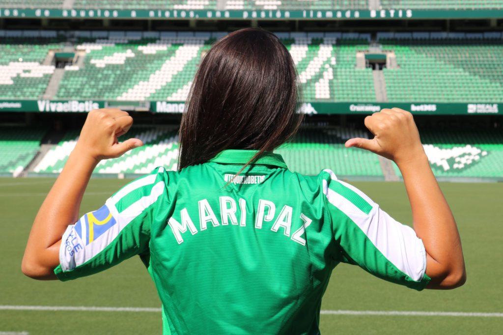 Mari Paz Vilas, xogadora do Betis - BETIS