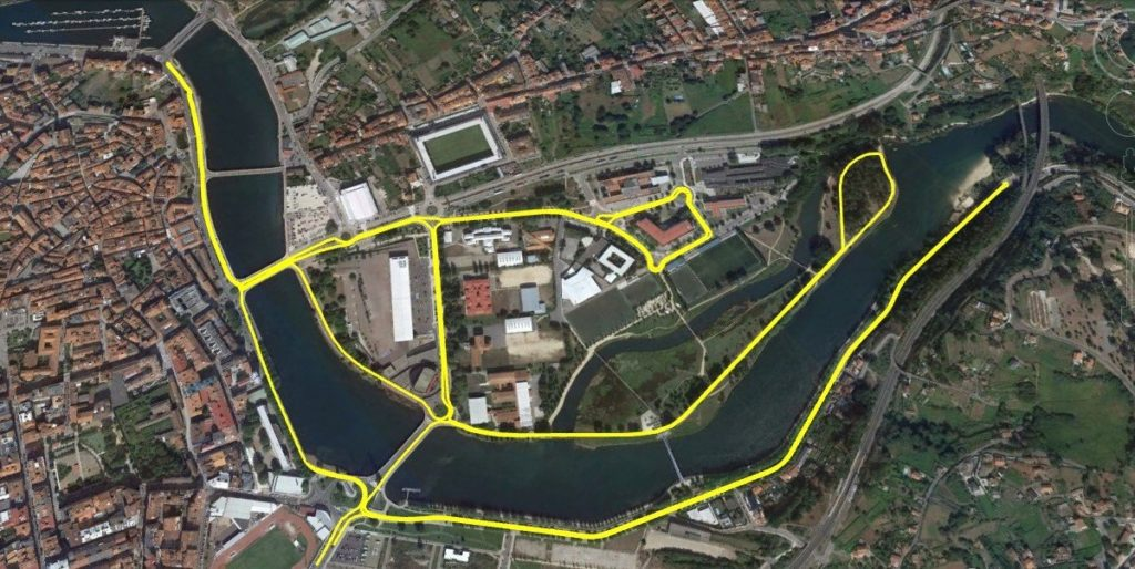 Recorrido XXXVIII Gran Fondo XXV Medio Maratón de Pontevedra / SG PONTEVEDRA