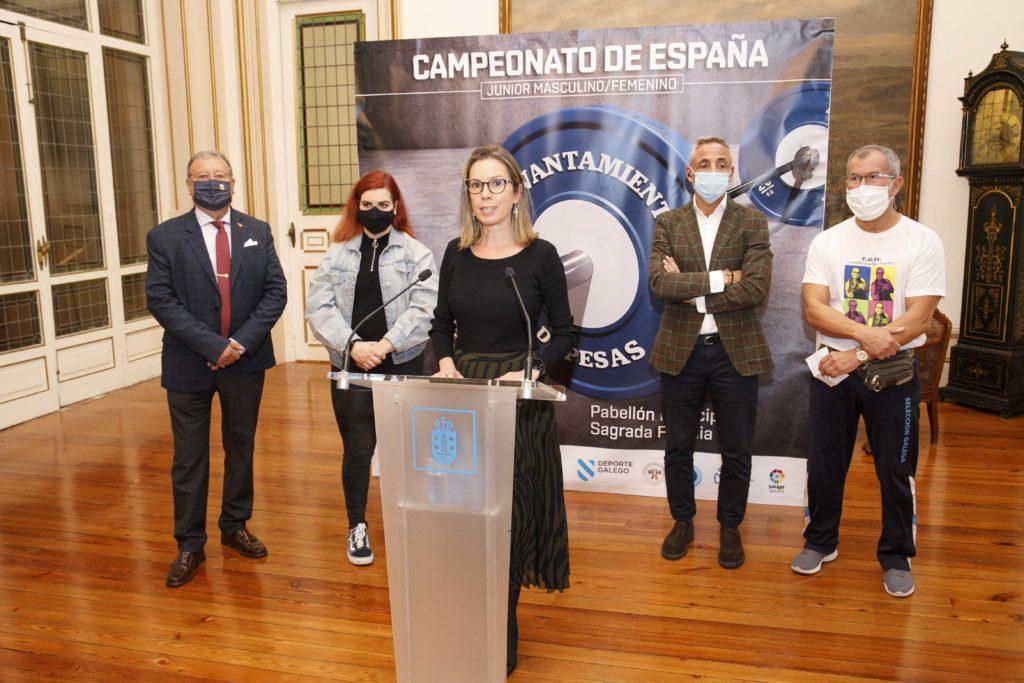 Presentación Campionato de España Junior / CONCELLO A CORUÑA