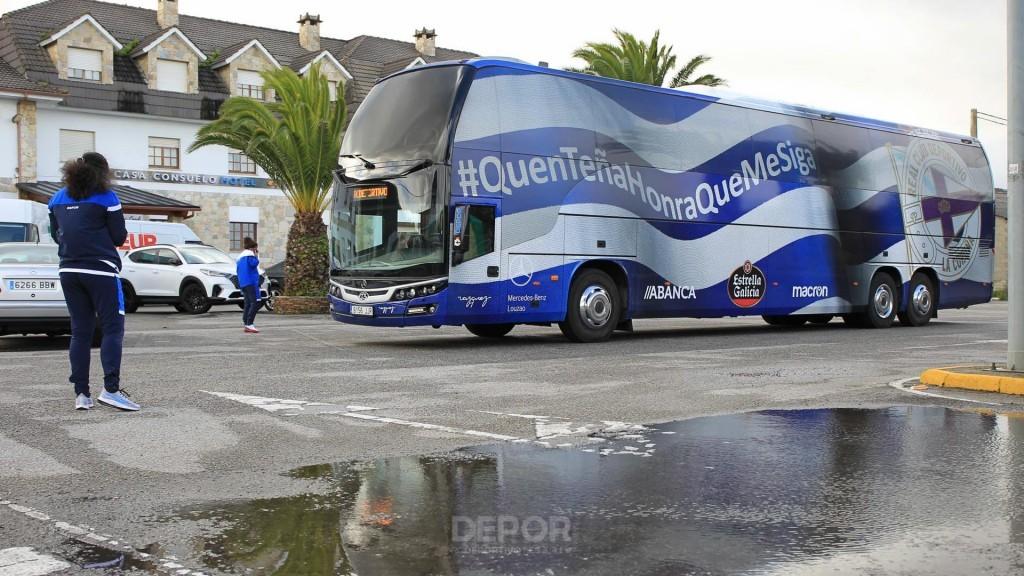 Autobús do Dépor ABANCA / RCD