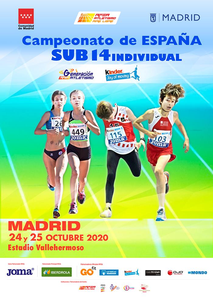 Campionato de España Sub14 de Atletismo / RFEA