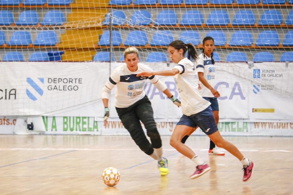Lara Balseiro fala sobre o amigable co Castro / BURELA FS
