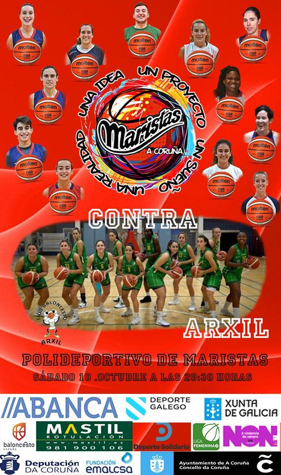 Maristas Coruña vs CB Arxil