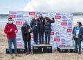 Categoría muller senior K-1 Sprinter 15000: 1ª clasificada Maria Del Palacio; 2ª clasificada Verónica Carrera e 3ª clasificada María Concepción Sanroman, as tres do Club de Piragüismo Olívico, na I Regata Kayak Concello de Miño / CONCELLO DE MIÑO