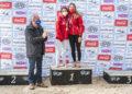Amalia Bourgoin e Aroa García, 1ª clasificadas en K-2 Sprinter 5000 na I Regata Kayak Concello de Miño / CONCELLO DE MIÑO