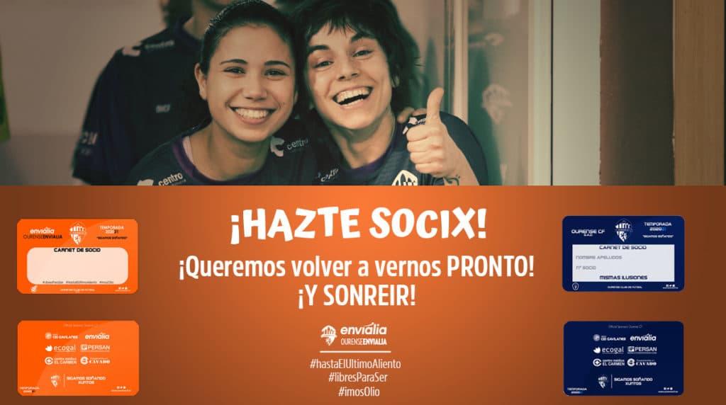 Campaña socias Ourense Envialia FS 2020-21