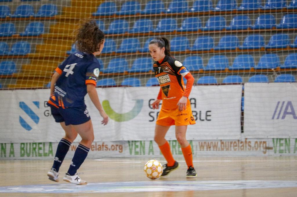 Peque, futbolista do Burela / PRBFS