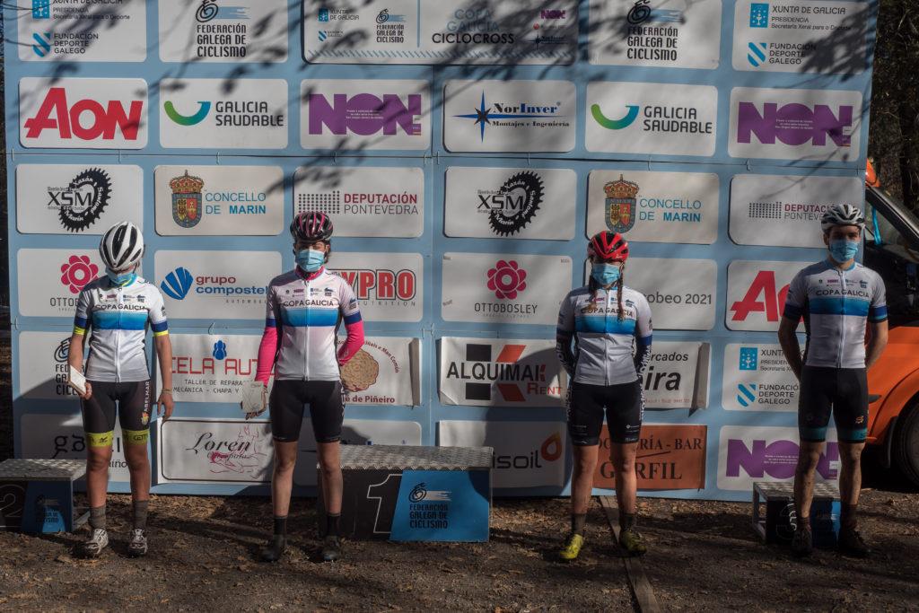 Copa Galicia de ciclocrós, celebrada en Marín / FEDERACIÓN GALEGA DE CICLISMO