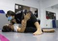 Loitadoras de grappling no Ximnasio Graíño / ÁLEX VÁZQUEZ