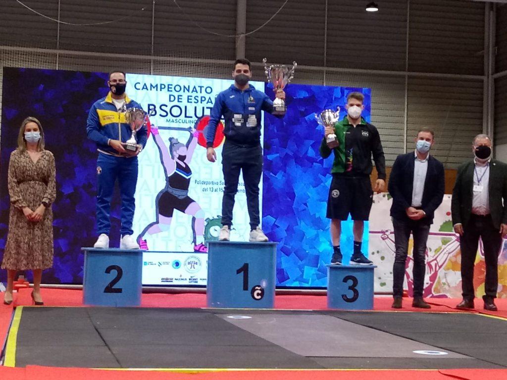 Michael Otero, ouro no Campionato de España Absoluto / CH Coruña