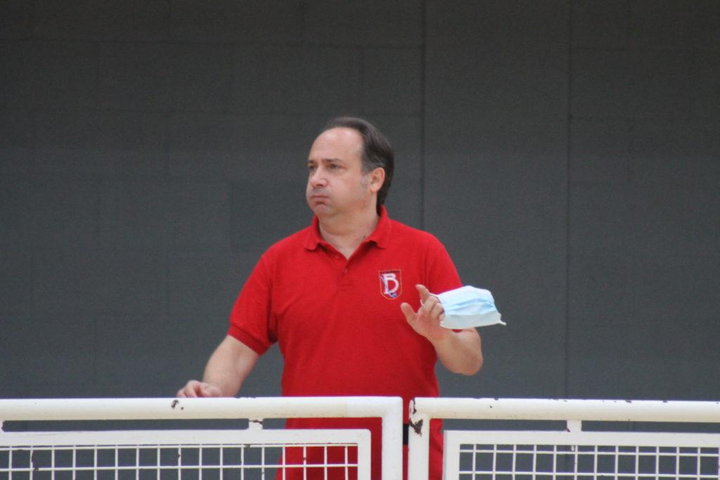 Santi Martínez, adestrador do HC Borbolla / SABELA MOSCOSO
